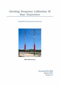 Transceiver Freq Calibration